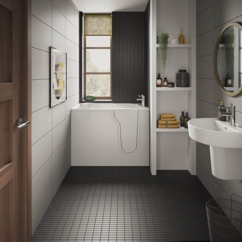 Bathe Easy Freedom Mini Easy Access Deep Bath & Panels  - Right Hand (14967)