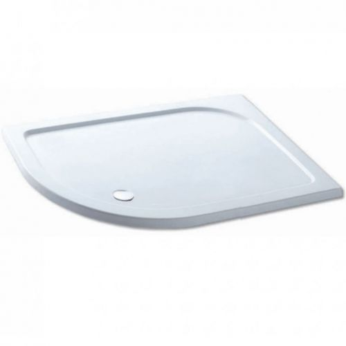 Volente 1000 x 700mm Offset Quadrant Shower Tray - Left Hand (19751)