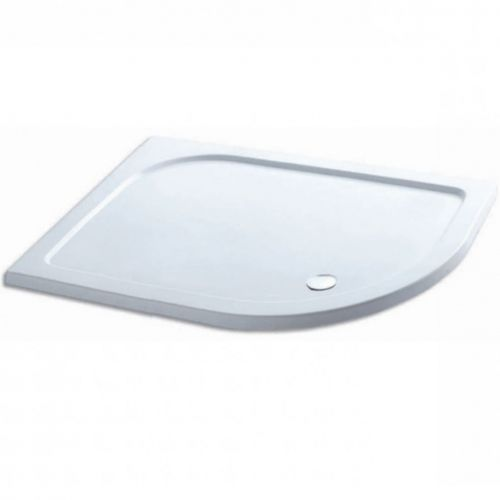 Volente 1000 x 700mm Offset Quadrant Shower Tray - Left Hand (19752)