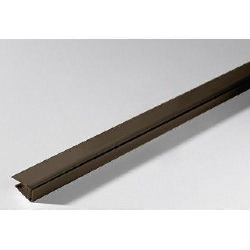 Grosfillex Endcap 8mm x 2.6m (Taupe) - 10757