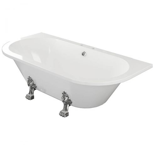 Traditional Back to Wall Bath