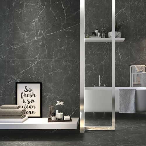 Fox Graphite Natural 60 x 120cm Porcelain Wall & Floor  Tile - 1.44sqm perbox (17343)
