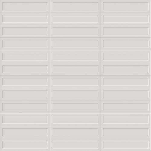 Gallery Grey Shiny 7.5 x 30cm White Body Wall Tile - 0.99sqm perbox (17397)