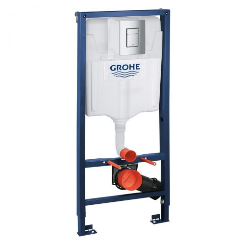 Grohe Rapid SL Cosmopolitan 1.13m Wall Hung Frame for WC (11009)