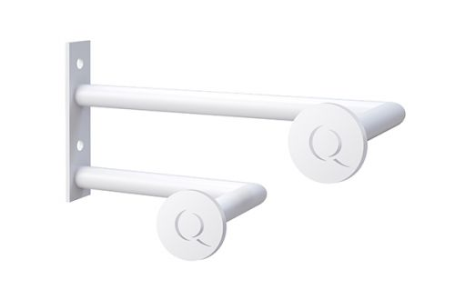 Asquiths Q' Hatstand/Robe Hook (Right Hand) - Mineral White - 17773