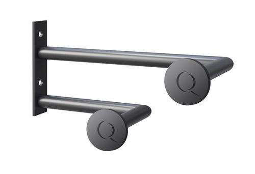 Asquiths Q' Hatstand/Robe Hook (Right Hand) - Mineral Anthracite - 17779