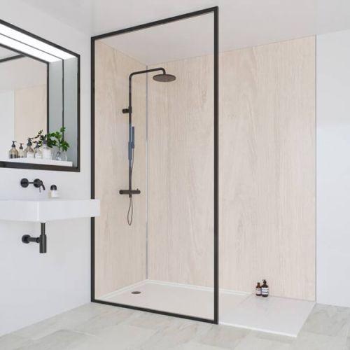 Multipanel Heritage Collection Alabaster Oak 598mm Shower Panel (13563)