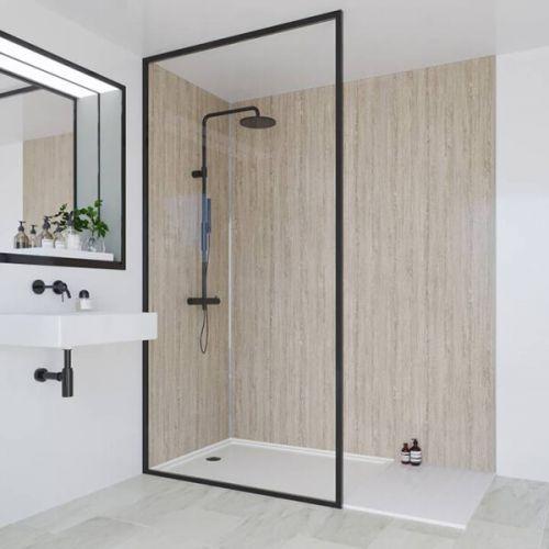 Multipanel Heritage Collection Delano Oak 598mm Shower Panel (13573)