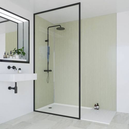 Multipanel Heritage Collection Esher Linewood 1200mm Shower Panel (13520)