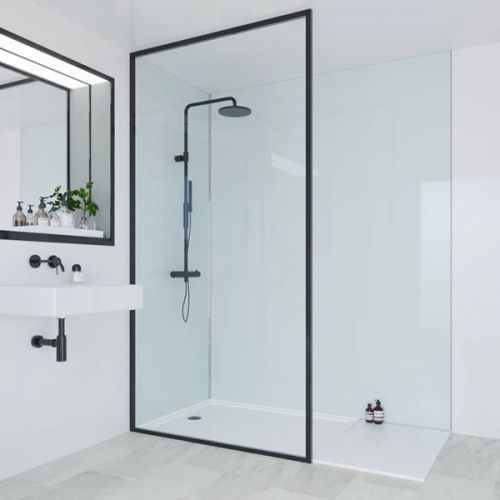 Multipanel Heritage Collection Kew Gloss 598mm Shower Panel (13512)