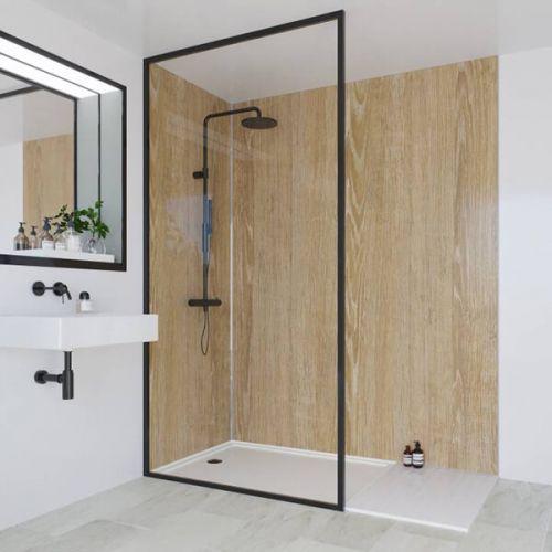 Multipanel Heritage Collection Rural Oak 598mm Shower Panel (13568)