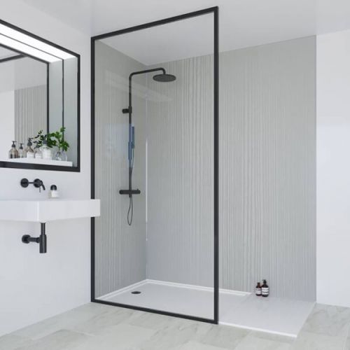 Multipanel Heritage Collection Winchester Linewood 1200mm Shower Panel (13551)