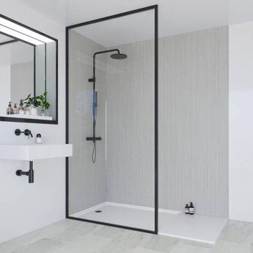 Multipanel Heritage Collection Sarum Twill Plex 1200mm Shower Panel (13546)