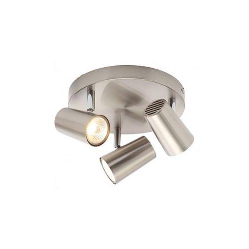 Forum Inlight INL-31776-SNIC Harvey Triple Spotlight Bar - Satin Nickel - 18493