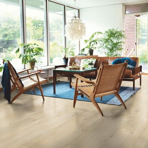 Pergo Sensation Modern Plank 4V Laminate Wooden Flooring - 1.835sqm per pack - Coastal Oak (18100)
