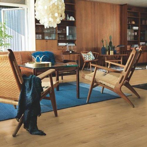 Pergo Sensation Modern Plank 4V Laminate Wooden Flooring - 1.835sqm per pack - Village Oak (18110)