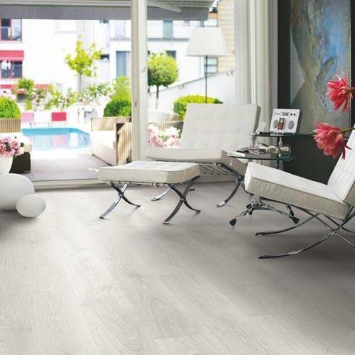Pergo Sensation Modern Plank 4V Laminate Wooden Flooring - 1.835sqm per pack - Studio Oak (18108)