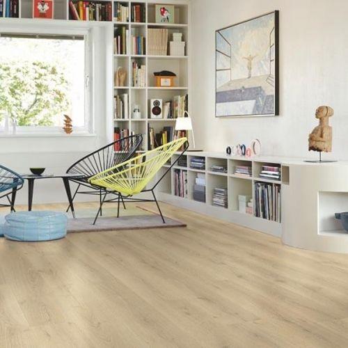 Pergo Sensation Modern Plank 4V Laminate Wooden Flooring - 1.835sqm per pack - City Oak (18099)