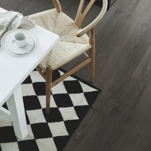 Pergo Sensation Modern Plank 4V Laminate Wooden Flooring - 1.835sqm per pack - Black Pepper Oak (18097)