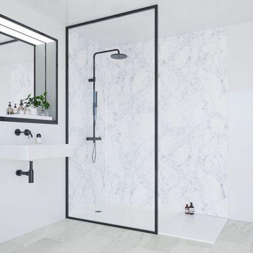 Multipanel Linda Barker Collection Bianca Luna 598mm Shower Panel (13469)