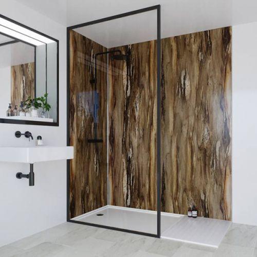 Multipanel Linda Barker Collection Dolce Macchiato 598mm Shower Panel (11651)