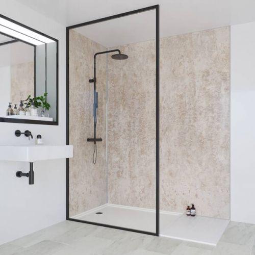 Multipanel Linda Barker Collection Stone Elements 598mm Shower Panel (9520)