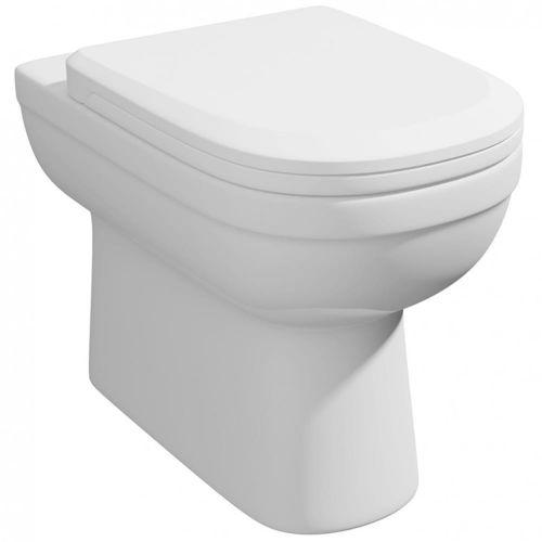 Lifestyle Back to Wall Toilet Pan & Soft Close Seat (19666)