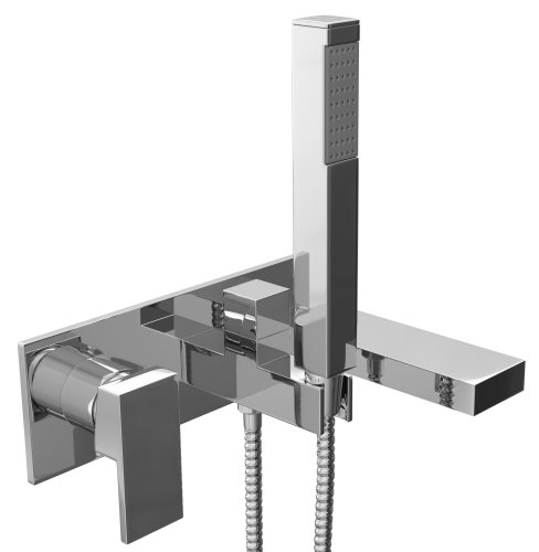 Eliseo Ricci Linea Wall Mounted Bath Shower Mixer - 14559