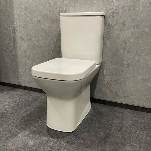 Linea Easy Plumb WC Pan, Cistern & Soft Close Seat (19508)