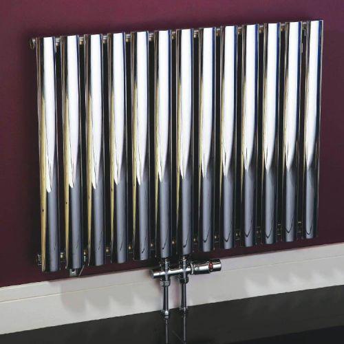 Phoenix Louise 600 x 1020mm Carbon Steel Designer Radiator - 12315