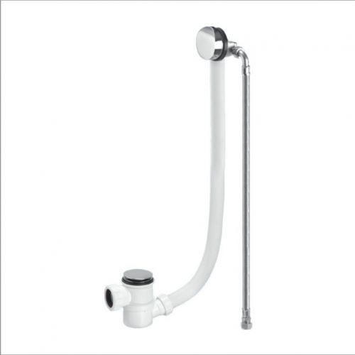 McAlpine Chrome Plated Brass Bath Filler and Overflow  (12156)