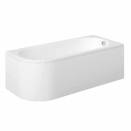 Moods Bathrooms to Love Essence 1700mm Back to Wall Bath  - Right Hand (14389)