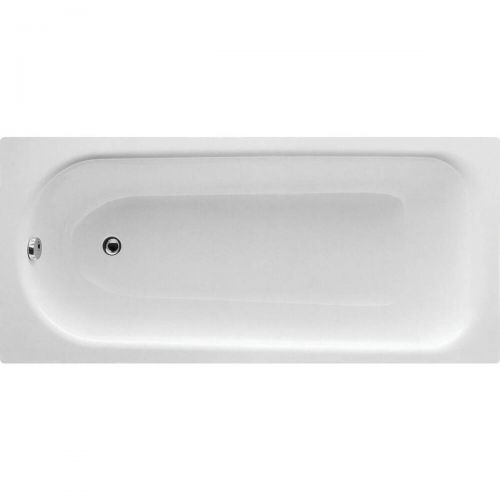 Moods Bathrooms to Love Eurowa Steel 1500 x 700mm Single Ended Bath  (8102)