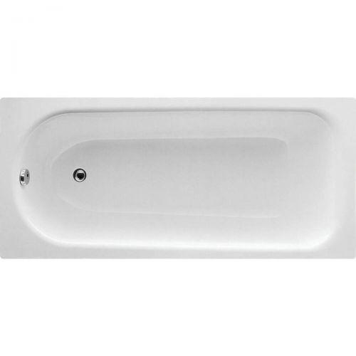 Moods Bathrooms to Love Eurowa Steel 1700 x 700mm Single Ended Bath  (8075)
