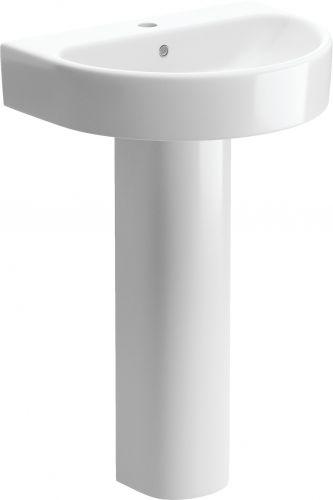 Moods Bathrooms to Love Senna Basin with Full Pedestal (14353)