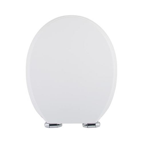 Standard Soft Close MDF Toilet Seat - Gloss White (19498)