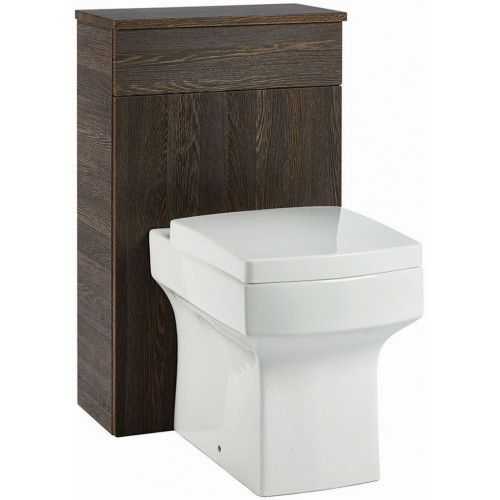 Muro 500mm WC Unit - Dark Oak (19072)