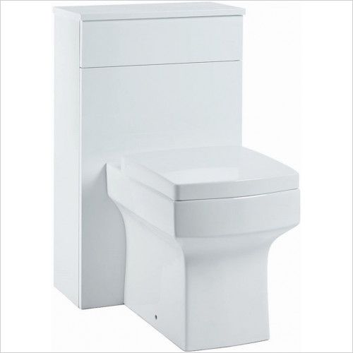 Muro 500mm WC Unit - Gloss White (19071)