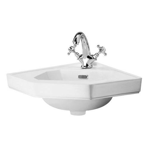 Richmond 420mm Wall Hung Corner Basin (19455)