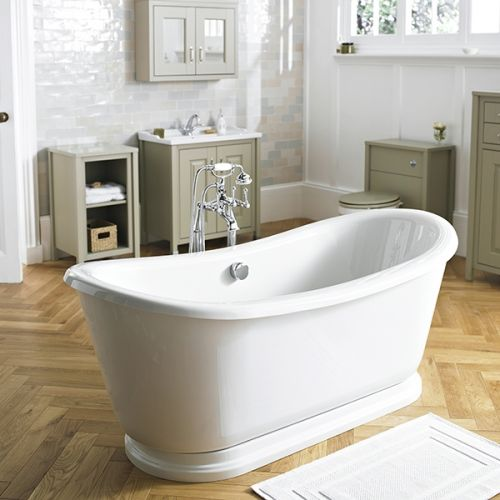 Nuie Greenwich Freestanding Double Ended Bath  (15144)
