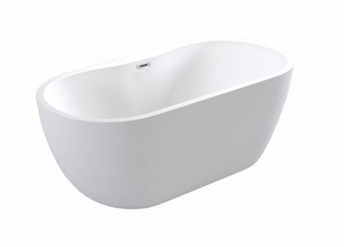 Moods Bathrooms to Love Harlesden Freestanding Double Ended Bath  (15301)