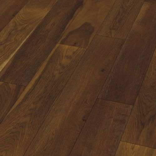 Oak Smoked & Brushed 155 18mm Wooden Flooring - 2.63sqm per pack - 13986