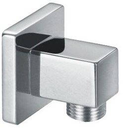Square Shower Wall Outlet Elbow (9253)