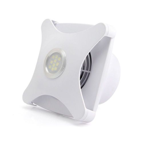 Ellsi 100mm Concealed Extractor Fan with Light (19653)
