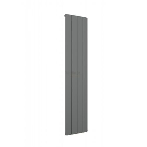 Peretti 1800 x 375mm Aluminium Radiator - Matt Anthracite - 13879