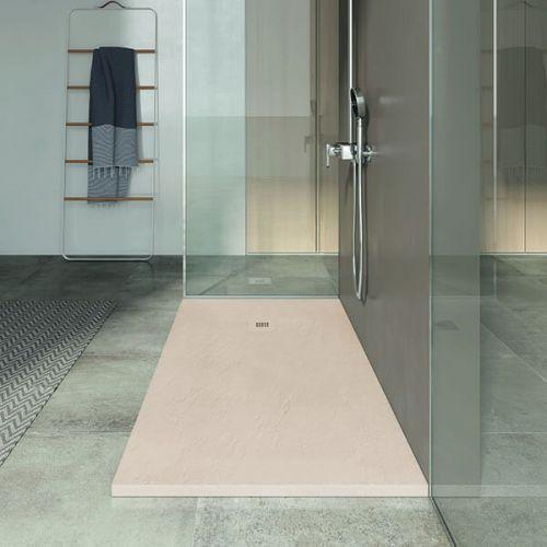 Poalgi 1200 x 800mm Slate Wetroom Tray & Waste - Perla - 8049