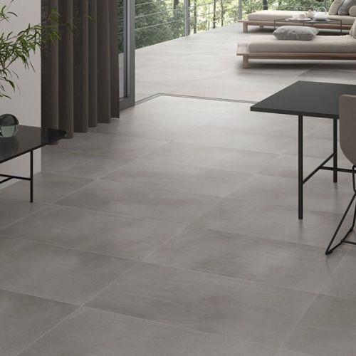 Piemonte Grey 59.2 x 59.2cm Porcelain Tile - 1.05sqm perbox ()