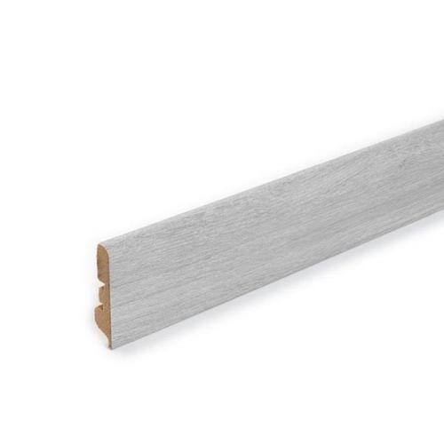 Pergo Straight Wallbase (2.4m in length) - Limed Grey Oak - 18118