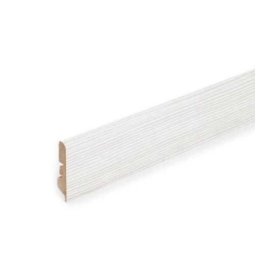 Pergo Straight Wallbase (2.4m in length) - Brushed White Pine - 18113