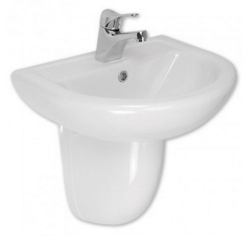 Aida 550mm 1th Basin including Semi Pedestal (11176)